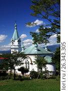 Церковь Воскресения Христова в Хакодате, Хоккайдо, Япония, фото № 26343305, снято 23 августа 2009 г. (c) Александр Гаценко / Фотобанк Лори