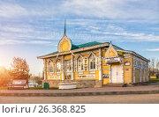 Купить «Углич. Музей городского быта. Museum of Urban Life», фото № 26368825, снято 7 мая 2017 г. (c) Baturina Yuliya / Фотобанк Лори