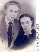 Купить «1957 год, портрет, город Петрозаводск», фото № 26371905, снято 19 ноября 2018 г. (c) Сергей Костин / Фотобанк Лори