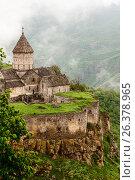 Монастырь Татев Армения, фото № 26378965, снято 12 мая 2017 г. (c) Эдуард Паравян / Фотобанк Лори