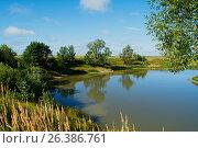 Купить «Юго-западный берег озера», фото № 26386761, снято 12 августа 2015 г. (c) Игорь Камаев / Фотобанк Лори