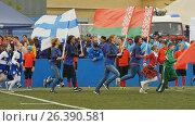 Церемония открытия Кубке европейских чемпионов по регби-7, видеоролик № 26390581, снято 27 мая 2017 г. (c) Stockphoto / Фотобанк Лори