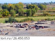 Купить «Metsamor hillfort, Armenia, archaeological excavations», фото № 26450053, снято 13 октября 2016 г. (c) Анна Мартынова / Фотобанк Лори
