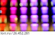 Купить «Абстрактный фон из цветных квадратиков», видеоролик № 26452281, снято 28 марта 2017 г. (c) FMRU / Фотобанк Лори
