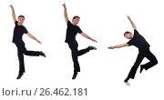 Купить «Dancer isolated on the white background», фото № 26462181, снято 19 ноября 2012 г. (c) Elnur / Фотобанк Лори
