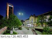 Sation Dammtor in Hamburg, Germany. Стоковое фото, фотограф McPHOTO/C. Ohde / age Fotostock / Фотобанк Лори
