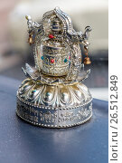 Купить «Wenzhou, Zhejiang, China. Ornament Representing Buddhist samsara, the endless cycle of birth and death.», фото № 26512849, снято 21 октября 2018 г. (c) age Fotostock / Фотобанк Лори