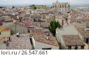 Купить «Medieval town Montblanc located near the Tarragona on high», видеоролик № 26547661, снято 15 мая 2017 г. (c) Яков Филимонов / Фотобанк Лори