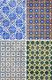 Traditional pattern tiles in Lisbon, фото № 26555693, снято 8 апреля 2017 г. (c) Алексей Кузнецов / Фотобанк Лори