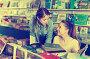 Family in book shop, фото № 26561613, снято 9 мая 2017 г. (c) Яков Филимонов / Фотобанк Лори