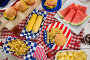Breakfast with 4th july theme, фото № 26569105, снято 10 февраля 2017 г. (c) Wavebreak Media / Фотобанк Лори