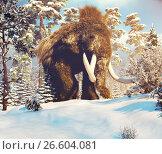 Big Mammoth. Стоковое фото, фотограф Виктор Застольский / Фотобанк Лори