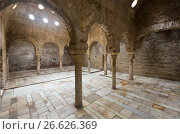 Купить «Interior of The Banuelo baths (El Banuelo). Granada», фото № 26626369, снято 13 мая 2016 г. (c) Яков Филимонов / Фотобанк Лори