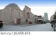 Купить «unfinished Kalta Minor Minaret minaret Muhammad Amin Khan 19th century. Khiva, Uzbekistan», видеоролик № 26659413, снято 6 июля 2009 г. (c) Куликов Константин / Фотобанк Лори