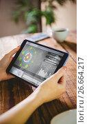 Купить «Composite 3d image of application interface», фото № 26664217, снято 6 июня 2020 г. (c) Wavebreak Media / Фотобанк Лори
