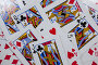 Close-up of playing cards, фото № 26674037, снято 6 апреля 2017 г. (c) Wavebreak Media / Фотобанк Лори