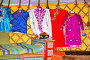 Национальная одежда в музее ойрат-монгольской кочевой культуры. Элиста, Калмыкия, фото № 26679245, снято 22 апреля 2017 г. (c) Ирина Борсученко / Фотобанк Лори