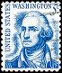 Вашингтон Джордж. Марка США 1967 года, фото № 26689693, снято 29 апреля 2017 г. (c) Владимир Макеев / Фотобанк Лори