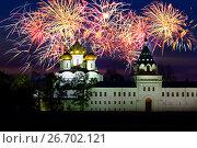Купить «Russia, Kostroma city, Ipatievsky monastery», фото № 26702121, снято 24 сентября 2010 г. (c) ElenArt / Фотобанк Лори