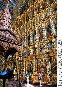 Купить «Icons of Christianity Trinity cathedral in Ipatievsky monastery», фото № 26702129, снято 30 июля 2015 г. (c) ElenArt / Фотобанк Лори