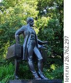 Купить «Памятник П.И. Чайковскому. Симферополь», фото № 26762297, снято 31 мая 2017 г. (c) Ярослав Коваль / Фотобанк Лори