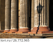 Купить «Colonnade of the Kazan Cathedral in St Petersburg Russia», фото № 26772965, снято 15 августа 2017 г. (c) Зезелина Марина / Фотобанк Лори