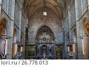 Church of St. Francis in Evora, Portugal (2017 год). Стоковое фото, фотограф Знаменский Олег / Фотобанк Лори