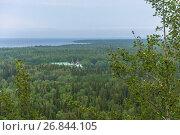 Купить «View of the Savvatievo skit on Solovki», фото № 26844105, снято 26 июля 2017 г. (c) Валерий Смирнов / Фотобанк Лори