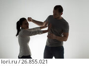 Купить «angry couple having fight», фото № 26855021, снято 20 января 2017 г. (c) Syda Productions / Фотобанк Лори