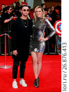 Купить «'Captain America: Civil War' film premiere, London, Britain Featuring: Mason Noise, Larisa Eddie Where: London, United Kingdom When: 26 Apr 2016 Credit: WENN.com», фото № 26876413, снято 26 апреля 2016 г. (c) age Fotostock / Фотобанк Лори