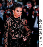 Купить «69th Cannes Film Festival - 'Mal de Pierres' (From the Land of the Moon) - Premiere Featuring: Kendall Jenner Where: Cannes, France When: 15 May 2016 Credit: WENN.com», фото № 26890069, снято 15 мая 2016 г. (c) age Fotostock / Фотобанк Лори