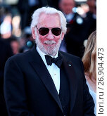 Купить «69th Cannes Film Festival - 'The Last Face' - Premiere Featuring: Donald Sutherland Where: Cannes, France When: 20 May 2016 Credit: WENN.com», фото № 26904473, снято 20 мая 2016 г. (c) age Fotostock / Фотобанк Лори