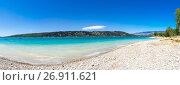 Lac de Sainte-Croix (2016 год). Стоковое фото, фотограф Юлия Белоусова / Фотобанк Лори