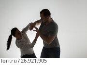 Купить «angry couple having fight», фото № 26921905, снято 20 января 2017 г. (c) Syda Productions / Фотобанк Лори