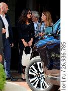 Купить «69th Cannes Film Festival - Celebrity Sightings Featuring: Salma Hayek Where: Cannes, France When: 16 May 2016 Credit: WENN.com», фото № 26936785, снято 16 мая 2016 г. (c) age Fotostock / Фотобанк Лори