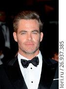 Купить «69th Cannes Film Festival - 'Hands of Stone' - Premiere Featuring: Chris Pine Where: Cannes, France When: 16 May 2016 Credit: WENN.com», фото № 26937385, снято 16 мая 2016 г. (c) age Fotostock / Фотобанк Лори