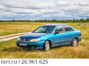 Nissan Sylphy (2017 год). Редакционное фото, фотограф Art Konovalov / Фотобанк Лори
