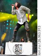 Купить «Rock on the Range 2016 Music Festival at MAPFRE Stadium in Columbus, OH, USA on May 22, 2016 Featuring: Red Sun Rising Where: Columbus, Ohio, United States...», фото № 26963913, снято 22 мая 2016 г. (c) age Fotostock / Фотобанк Лори