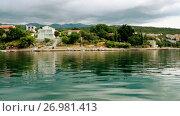 Купить «shore of Novigrad sea in Zadar County, Croatia», видеоролик № 26981413, снято 6 сентября 2017 г. (c) BestPhotoStudio / Фотобанк Лори