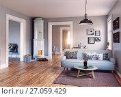 Купить «The Modern interior», фото № 27059429, снято 13 ноября 2019 г. (c) Виктор Застольский / Фотобанк Лори
