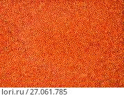 Купить «Фон из плодов чечевицы красной», фото № 27061785, снято 7 октября 2017 г. (c) V.Ivantsov / Фотобанк Лори