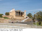 Купить «Hazrat Khizr Mosque is one of the oldest Muslim buildings in Samarkand. Uzbekistan», фото № 27084121, снято 15 октября 2016 г. (c) Юлия Бабкина / Фотобанк Лори