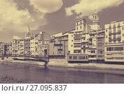 Купить «picturesque view of Girona», фото № 27095837, снято 12 июня 2014 г. (c) Яков Филимонов / Фотобанк Лори