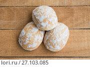 Купить «Russian mint gingerbread oval shape», фото № 27103085, снято 20 марта 2019 г. (c) Сергей Дорошенко / Фотобанк Лори