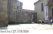 Купить «Church of Misericordia of Braga, Portugal», видеоролик № 27119509, снято 20 мая 2017 г. (c) BestPhotoStudio / Фотобанк Лори