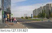 Купить «Улица Куйбышева. Батайск», фото № 27131821, снято 24 сентября 2017 г. (c) Кургузкин Константин Владимирович / Фотобанк Лори