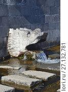 Купить «Целебный минеральный источник Erlonguan Spring для лечения зрения у входа в монастырь Чхун Лин Сы (Чжунлин)  в Удалянчи, Китай», фото № 27132781, снято 15 октября 2017 г. (c) Овчинникова Ирина / Фотобанк Лори