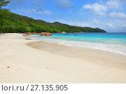 Seychelles islands, Praslin, Anse Lazio (2011 год). Стоковое фото, фотограф Знаменский Олег / Фотобанк Лори