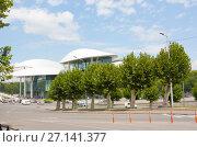Купить «Дом Юстиции в Тбилиси», фото № 27141377, снято 8 августа 2013 г. (c) Олег Хархан / Фотобанк Лори