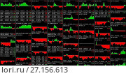 Купить «Moscow, Russia - October 30, 2017: Live price charts and market data for Bitcoin, Ethereum, and more», фото № 27156613, снято 30 октября 2017 г. (c) FotograFF / Фотобанк Лори